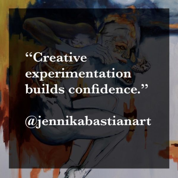 Creator of the Month March Quote from Jennika Bastian, Week 4