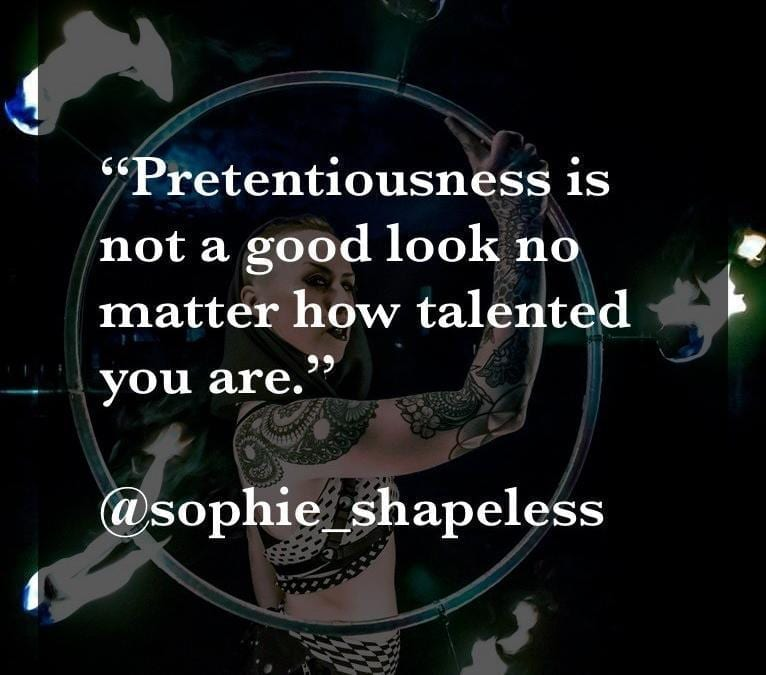 Creator of the Month April Quote from Sophie Shapeless, Week 3